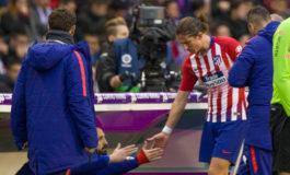 Filipe Luis sufre una lesión muscular de grado I en el muslo derecho