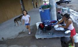 Navidad fría entre cartones tendrán familias desalojadas