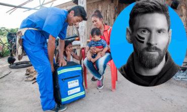 La Fundación Leo Messi dona 100.000€ para repartir 300 mochilas sanitarias
