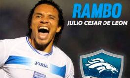 """Julio """"Rambo"""" León jugará en Broncos"""