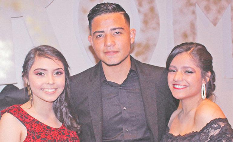 Yaleny Bonilla, Hassan Ramírez, Elvia Ochoa.