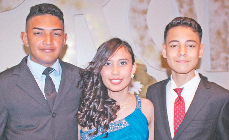 Orlin Reyes, Christian Amador, Jafeth Portillo.