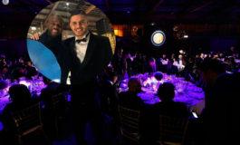 """El """"Rey"""" David disfrutó a lo grande de la cena navideña del Inter"""