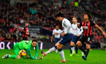 Tottenham despedaza al Bournemouth y asalta el segundo puesto