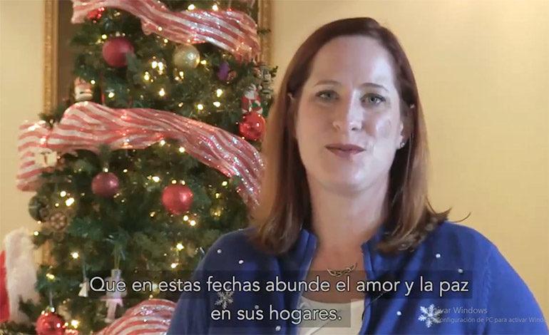 Embajada de EEUU desea paz y amor para hondureños en Navidad (Video)