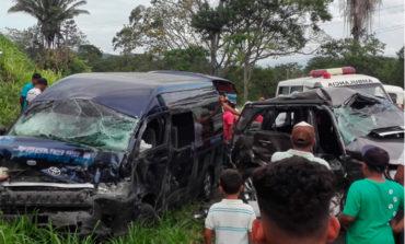 Accidente de tránsito en Cortés deja 14 heridos