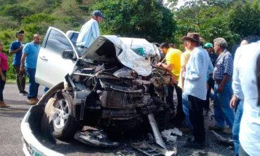 Accidente vial deja tres personas heridas en Olancho
