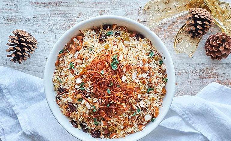 Receta de arroz con almendras para preparar el fin de año
