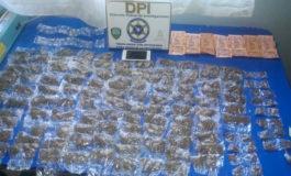 Arrestan a supuesto vendedor de drogas en Siguatepeque