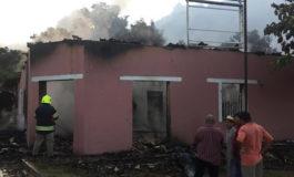 Incendio consume pulpería y vivienda en Morocelí