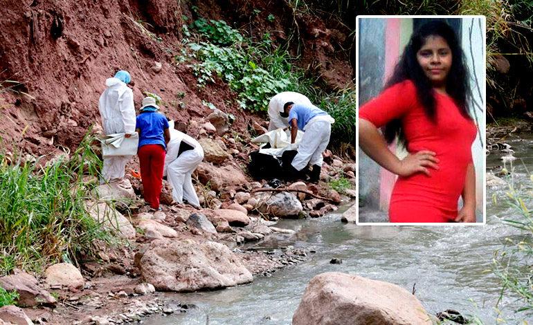 Enterrado a orilla de quebrada hallan cuerpo de quinceañera