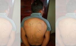Honduras captura pandillero salvadoreño acusado en su país de varios delitos