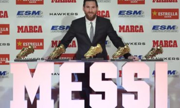 Messi recibe su quinta Bota de Oro, el único jugador en conseguirlo (Video)