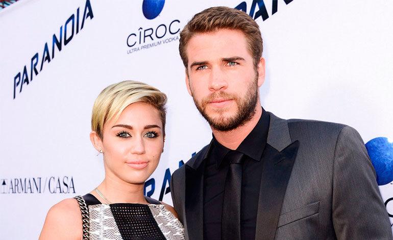 Miley Cyrus y Liam Hemsworth se casaron en secreto