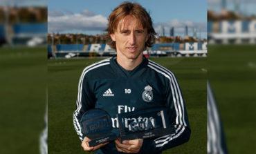"""The Guardian"" nombra a Luka Modric mejor futbolista del año"