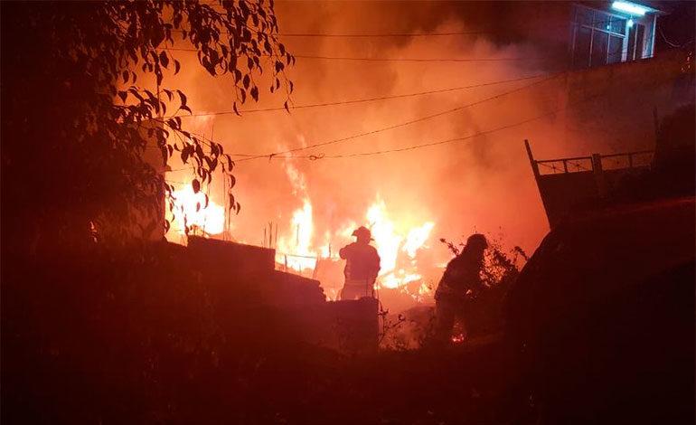 Fallecen seis niños en el incendio de una vivienda en la Ciudad de México