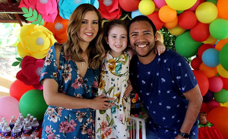 Victoria Sofía Maradiaga cumple cinco años
