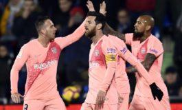 Messi y Luis Suárez dan la victoria al Barcelona en Getafe