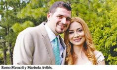 Marisela Avilés y Remo Memoli unidos en matrimonio