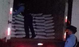 Capturado con camión y mercadería robada
