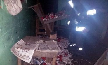 Tres heridos tras explotar cohetería en San Pedro Sula