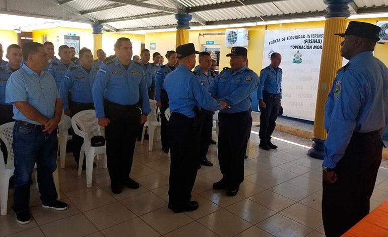 Policía Nacional realiza traspaso de mando en Ocotepeque