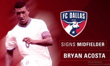 Dallas FC da la bienvenida a Bryan Acosta