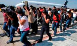 Arriba primer vuelo de deportados del año