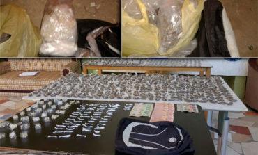 Capturan a hombre con más de mil bolsitas de droga en San Pedro Sula
