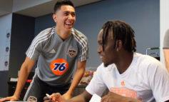 Alberth Elis se incorpora a la pretemporada del Houston Dynamo