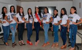 Bellas aspirantes a reina juvenil invitan a feria patronal de Morocelí (Video)