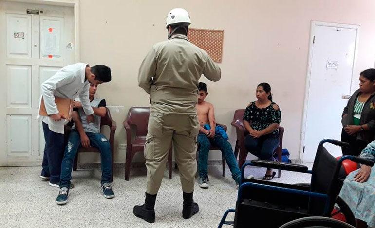 Accidente vial deja 13 personas heridas en Copán