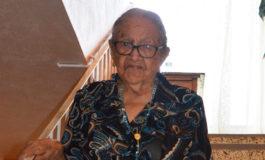 104 años de María de los Ángeles Irías