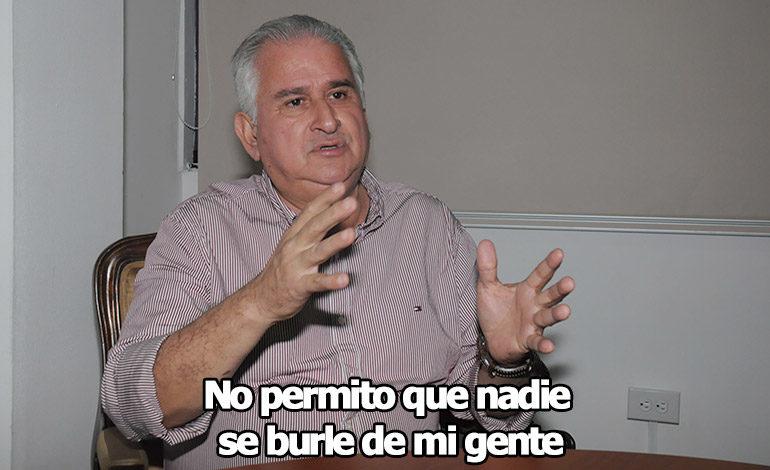 Sergio Portillo, alcalde de Santa Rita, Copán: