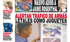 ALERTAN TRÁFICO DE ARMAS LETALES COMO JUGUETES