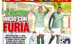 """""""EL MONSTRUO"""" INICIÓ CON FURIA"""