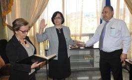 Juramentan a Roxana Morales como magistrada de la Corte de Apelaciones del Trabajo