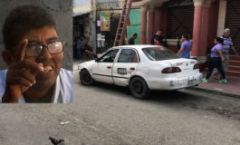 Matan a conductor de taxi en San Pedro Sula