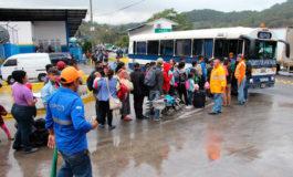 Migrantes abandonan movilización irregular y comienzan a retornar voluntariamente