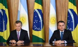 """Bolsonaro y Macri condenan """"dictadura"""" de Venezuela"""