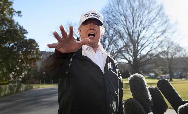 Trump cancela su participación en el Foro Económico de Davos