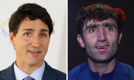 Su parecido con el primer ministro canadiense Trudeau hace de un afgano una celebridad