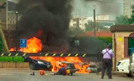 Explosión y tiroteo en un complejo hotelero de la capital de Kenia