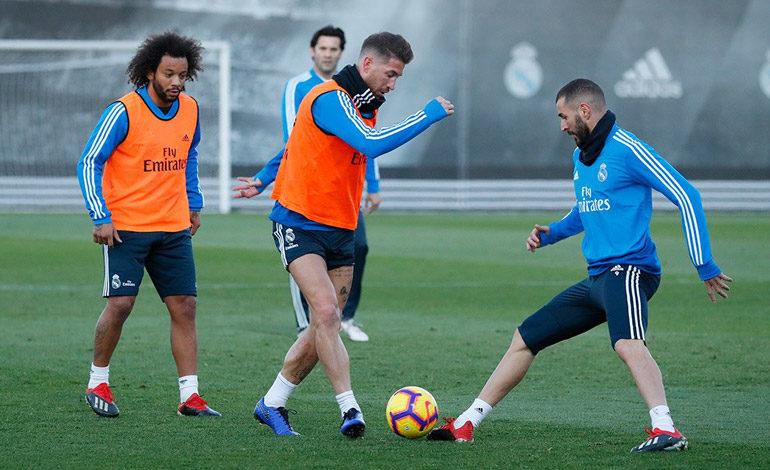 """Jugadores del Madrid hacen """"misa negra"""" en Valdebebas"""