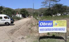 Atienden calles primarias y secundarias en la periferia de San Pedro Sula
