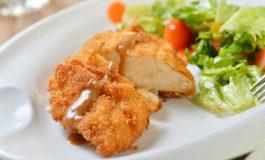 Pechugas de pollo empanizado al parmesano