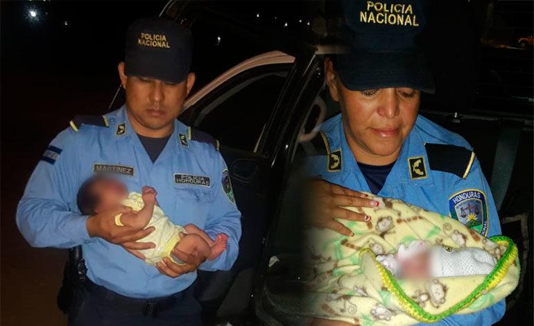 Rescatan a dos recién nacidas en Copán y Comayagüela