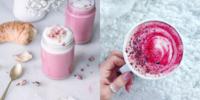 Pink latte 1523268964