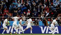 Uruguay vs egipto mundial rusia 2018