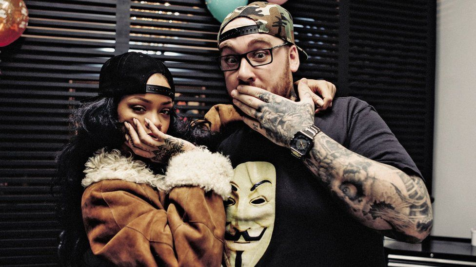 Rihanna tattoo